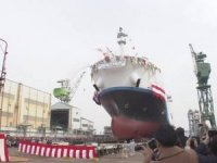 World's 1st Liquefied Hydrogen Carrier Named in Japan