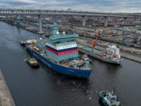 World's Largest Nuclear-Powered Icebreaker 'Arktika' Starts Sea Trials In Russia