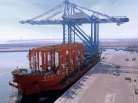 ZPMC cranes arrive at Fujairah