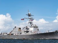 US Navy destroyer in close encounter with Russian Navy ship in Arabian Sea