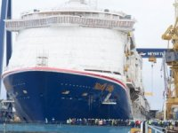North America's 1st LNG-Fueled Cruise Ship Floated Out in Finland