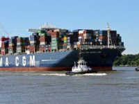 Coronavirus fears for six crew members of CMA CGM vessel