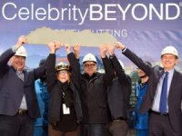 First Steel Cut for Celebrity Cruises' Third Edge Ship