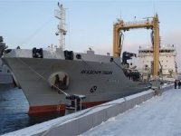 Russian navy tanker vessel Akademik Pashin project 23130 became part of Northern Fleet