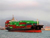  Container ship sunk pilot boat entering Taipei, 1 dead 1 missing