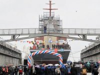 Severnaya Shipyard launches Project 20380 corvette Retivy
