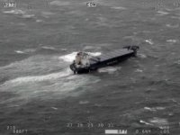 Cargo Ship Runs Aground off Scottish Coast