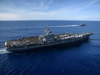 US Navy reports three coronavirus cases onboard aircraft carrier