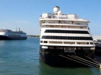 Two Holland America Cruise Ships Dock in Florida