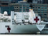 Hospital Ship USNS Comfort to Start Accepting COVID-19 Patients