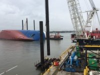 Pile-Driving Completed in Golden Ray Salvage