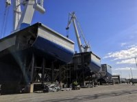Construction of Wasaline's new Clean Design RoPax ferry on track