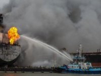 Tanker fire kills seven at shipyard in Indonesia