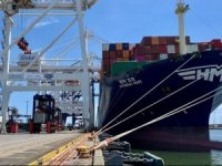 US East Coast Ports Celebrate Arrival of Large Container Ship