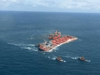 Giant Ore Carrier Stellar Banner Refloated Off Brazil