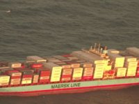 USCG Medevacs Burned Crew Member of Maersk Ship in Atlantic