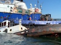 Video: Tugboat Sunk to Become Artificial Reef off New Jersey