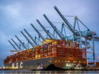 MSC's eco-friendly containership sets new world record at Port of LA