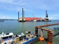 Barge Crew at Golden Ray Site Tests Positive for COVID-19