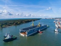 The Largest Floating Dock in the Baltic States