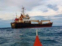 Vietnamese ship runs aground off Philippines after officer on watch falls asleep