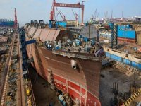 China shipbuilding output drops in first seven months of 2020
