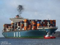 MOL Charisma suffers fire off Sri Lanka