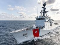 Newest US Coast Guard Cutter Undergoes Sea Trials