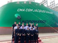 Digital naming ceremony held for CMA CGM's 23,000 TEU behemoth
