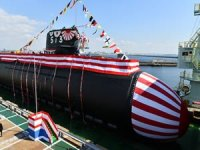 Japan launches, names new diesel-electric attack submarine