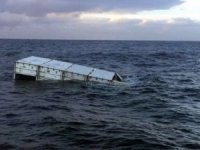 Lost Container Incident in Bristol Channel, England