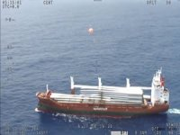 Australian SAR Plane Airdrops Emergency Supplies to Freighter