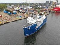 Damen Completes Conversion of PSV into Fish Feed Carrier