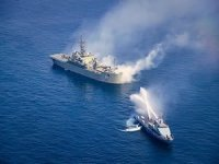 Iran And Russia Start Joint Naval Drill