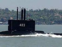 Indonesian Navy KRI NANGGALA 402 sank with all hands