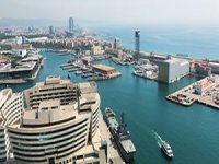 New exclusive cruise terminal arriving at the port of Barcelona