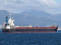 Accident report for another ship near the port of Fujairah in the UAE