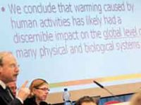 UN panel issues climate
