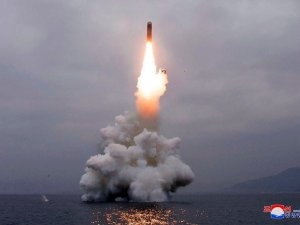 N Korea says submarine missile test succeeded