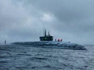 Borey-A-Class SSBN Knyaz Vladimir Test Fires Bulava Missile