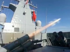 Video:Turkey Successfully Test Fires New ATMACA Missile From Ada-Class Corvette